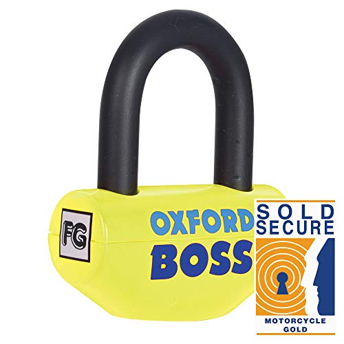 Oxford Motorcycle Boss Super Strong Disc Lock - 14mm Shackle -