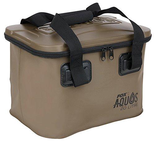 Fox Aquos EVA Bag 20l - Tackletasche zum Karpfenangeln, Angeltasche zum Angeln auf Karpfen, Tasche für Angelzubehör, Ködertasche (Fur Fox Bag)