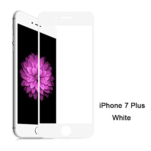 iPhone 7 Plus Pellicola Protettiva, PUGO TOP 3D Anti-Glare /