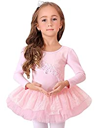 Pink Princess Größe 4-8 Ballett-Tanz- Einteilige Ballettröckchen-Kleid , Preis / Stück