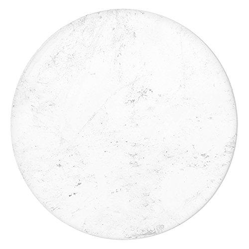 Morella Damen Coin 33 mm Edelstein Bergkristall Chakren Scheibe Halsketten-Anhänger und zur Stärkung