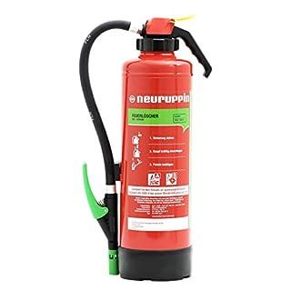 Neuruppin 6 Liter Schaum Feuerlöscher Auflade - Löscher S6 SKP eco Premium 10 LE + ANDRIS® Prüfnachweis