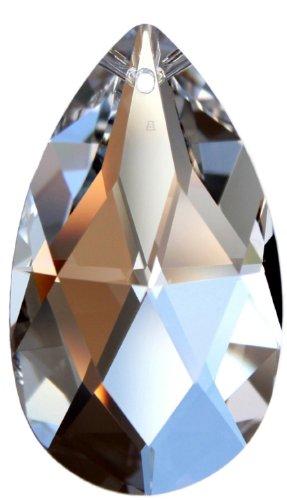 Kristallset mit Swarovski Kristalle Facetten Tropfen 50mm und Rieser® Aufhängeset - Feng Shui Deko