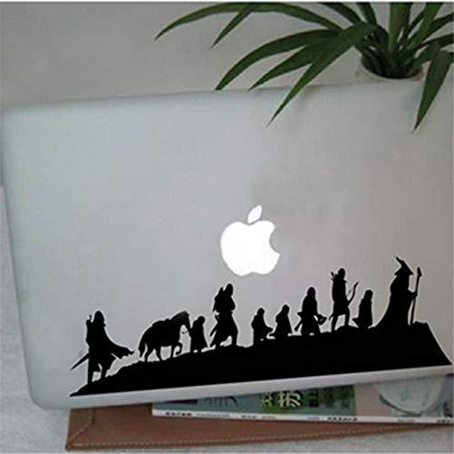 mer Der Herr der Ringe Caravan Sticker Fantasy Movie Art Coole Auto Laptop Wanddekoration für Laptop ()
