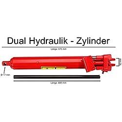 Vérin hydraulique 8 tonnes double pompe