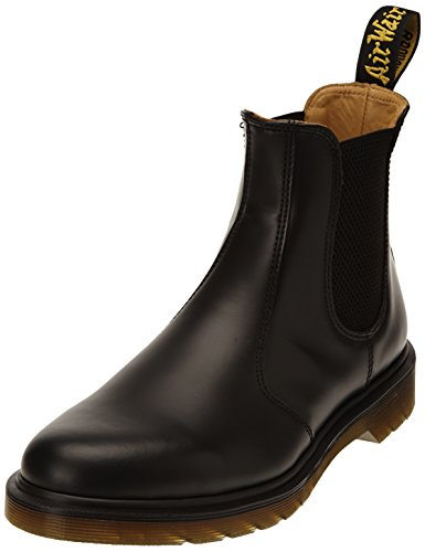Dr. Martens 2976 SMOOTH BLACKPLAIN WELT, Stivaletti Unisex Adulto, Nero, 37