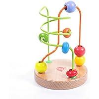 Lucy&Leo Rompecabezas Laberinto de Cuentas Bead Maze #1 Educativo Primera Infancia Juguete de Madera para Baby Boy y Baby Girl