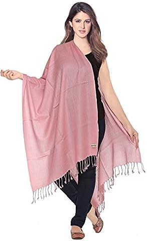 World of Shawls Luxurious 100% Kashmiri Fine Wool Pashmina Shawl