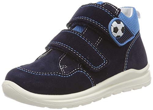 Superfit Baby Jungen Mel Sneaker, (Blau 80), 24 EU