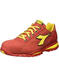 Diadora - Glove Ii Low S3 Hro, zapatos de trabajo Unisex adulto, Rojo (Rosso Scuro), 45 EU