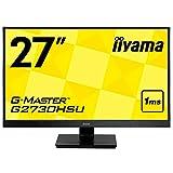 """iiyama G2730HSU-B1 Ecran PC LCD 27"""" 1920x1080 1 ms"""