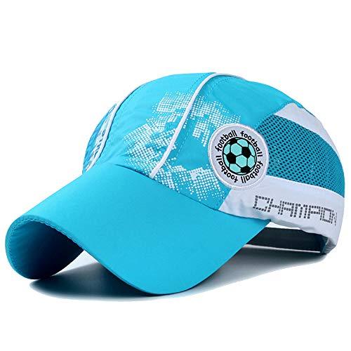 MDKZ Kappe KinderBreathable Quick Dry Baseball Caps Jungen Mädchen Basketball Fußball Stickerei Mesh Hip Hop Hüte
