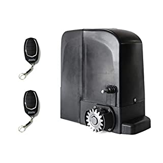 Kit Motor Sliding Intensive Use MOTORLINE bravo524(24V), to automate Sliding Doors and Gates of use Residential, Parking, Garage, Garage, High Quality with 2remotes High Security