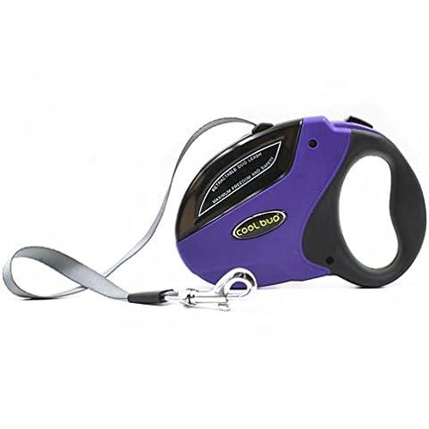 Pet Leash, Hansee pour animal domestique Taille élastique Sangle Traction Corde automatique Laisse rétractable pour chien
