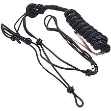 UKCOCO Cabestro de Cuerda Duradero, Cabestros Ajustables de Cuerda de Caballo Suave para Montar Caballo