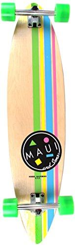 Maui and Sons MSSKC3302 - Skateboard Uomo, colore: Multicolore Graphic