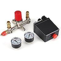 Acogedor Interruptor de presión del compresor de aire, 125Psi Compresor De Aire Válvula De Presión