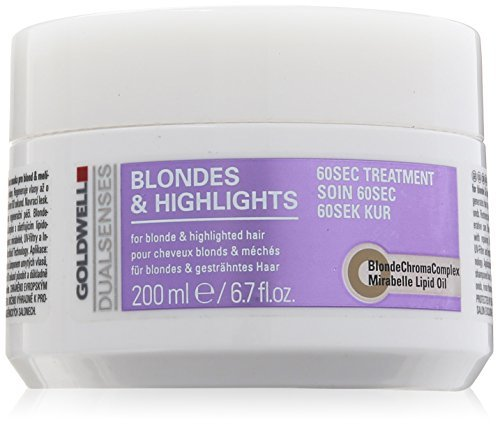 Goldwell Dualsenses Blondes und Highlights 60 Sec Treatment, 1er Pack, (1x 200 ml)