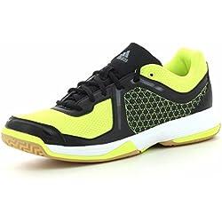 adidas Counterblast 3 - Zapatillas para hombre, color blanco / negro / lima, talla 44 2/3