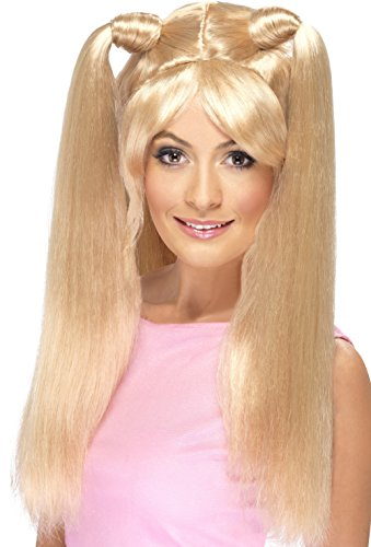 Baby Spice Blonde Wig with Pony Tails