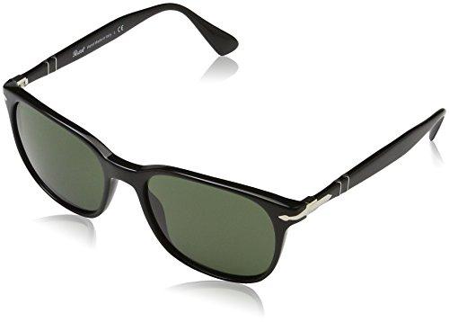 Persol 3164 occhiali da sole, nero (black/green), 56 uomo