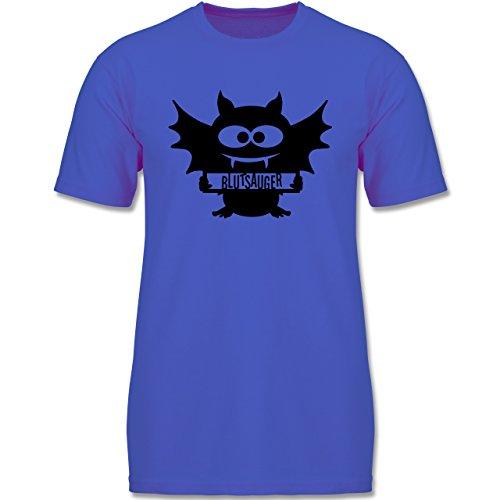 Muttertag & Vatertag - Fledermaus - 92 (1-2 Jahre) - Royalblau - F140K - Jungen T-Shirt (Beliebte Teenager Halloween Kostüme)