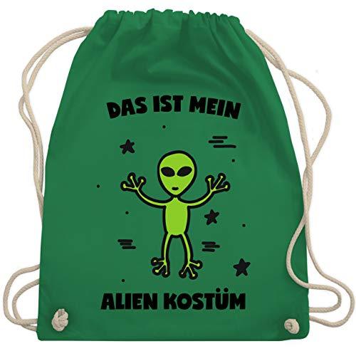 Karneval & Fasching - Das ist mein Alien Kostüm - Unisize - Grün - WM110 - Turnbeutel & Gym Bag