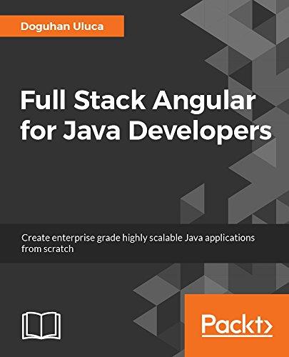 Full Stack Angular for Java Developers
