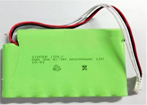Globus Batteriepack 2000mA für GENESY 3000 12V Ersatzakkus
