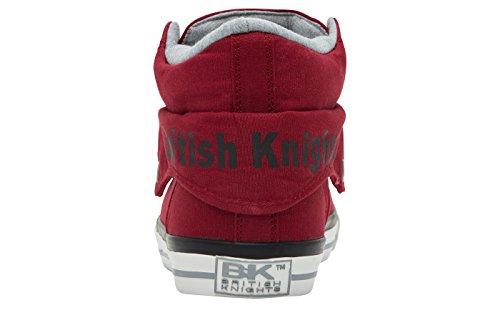 British Knights Roco - Herren Sneaker / High-Top-Schuh Bordeaux