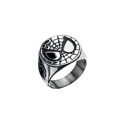 Marvel Comics The Amazing Spiderman Face Ring