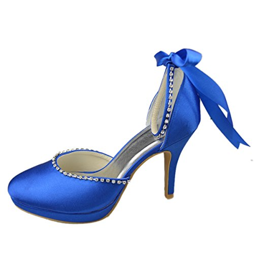 Minitoo , Bride de cheville femme Bleu - bleu