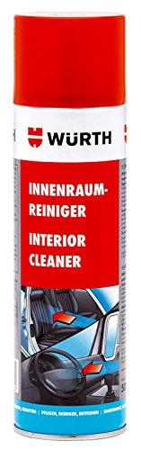 Innenraumreiniger - 500ml - Spezieller Reinigungsschaum mit Antistatikzusatz für den kompletten Fahrzeuginnenraum.