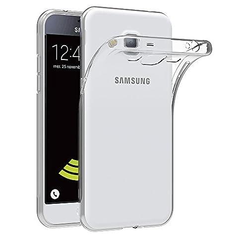 Coque Samsung Galaxy J3 2016, AICEK Etui Silicone Gel Samsung Galaxy J3 2016 (J320F) Housse Antichoc Samsung J3 Transparente Souple Coque De Protection Pour Samsung Galaxy J3 2016 (5,0 Pouces)