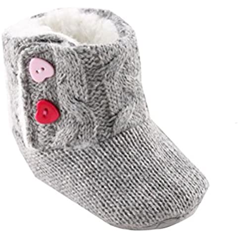 Zapatos de bebé,Xinantime Bowknot Suave Invierno Zapatos Calientes Botas