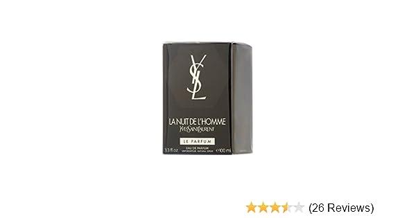 Ysl La Nuit De Lhomme Le Parfum Eau De Parfum 100ml Spray Amazon