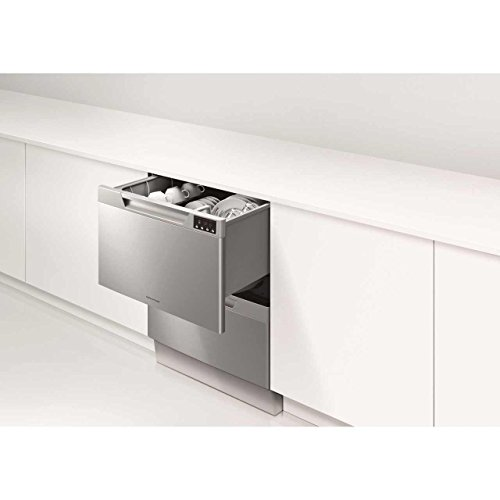 Fisher & Paykel DD60DAHW8 Twin Dishwasher Drawer | White Double Dishdrawer 81031