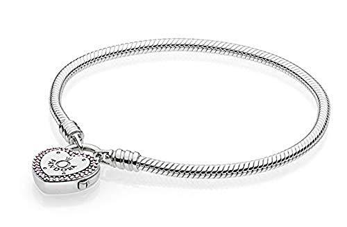 Pandora Pulsera charm Mujer plata - 596586fpc-18
