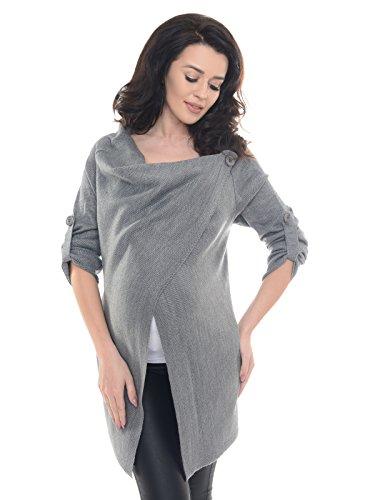 Purpless maternity cardigan prémaman 9005 (40/42, dark gray2)