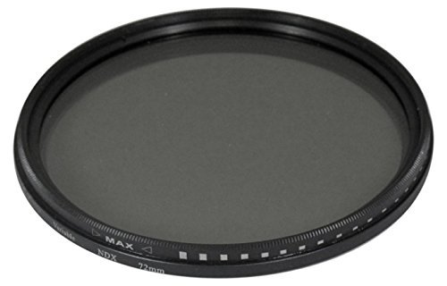 58mm Variable NDX Fader Filter ND2 - ND1000 for Canon Digital EOS Rebel SL1, T1i, T2i, T3, T3i, T4i, T5, T5i EOS60D, EOS70D, 50D, 40D, 30D, EOS 5D, EOS5D Mark III, EOS6D, EOS7D, EOS7D Mark II, EOS-M Digital SLR Cameras Which Has Any Of These Canon Lenses 18-55mm IS II, 18-250mm, 55-200mm, 55-250mm, 70-300mm f/4.5-5.6, 75-300mm, 100-300mm, EF 24mm f/2.8, 28mm f/1.8, 28mm f/2.8, 50mm f/1.4, 85mm f/1.8, EF 100mm f/2 , EF 100mm f/2.8, MP-E 65mm f/2.8, TS-E 90mm f/2.8  available at amazon for Rs.3670
