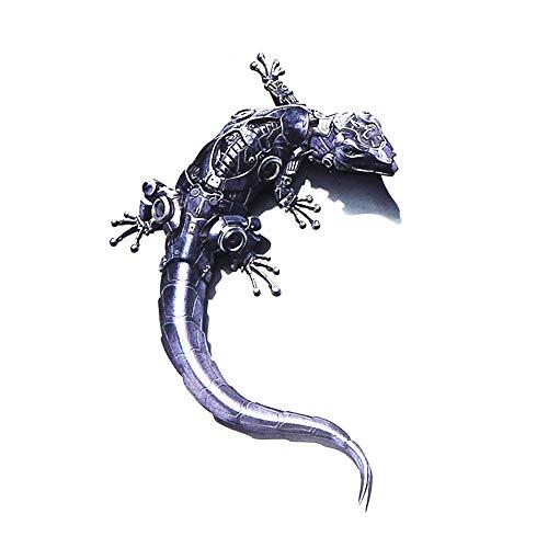 DSYCAR 3D Aufkleber Auto Geckos Form Auto Aufkleber Aufkleber Fahrzeug Auto Auto Aufkleber Kunst Aufkleber Abnehmbare Design Auto Styling (1) -