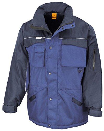 RT72 Workguard Heavy Duty Combo Coat Jacke Arbeitsjacke Winterjacke winddicht XXL,Royal-Navy -