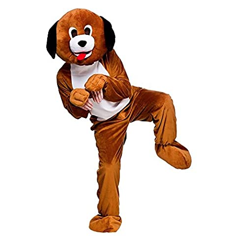 Mascot Puppy Dog Mascot Adult Mascot & Animal Costumes | Ladies Mens Children's Entertainer Outfits | Fancy Dress