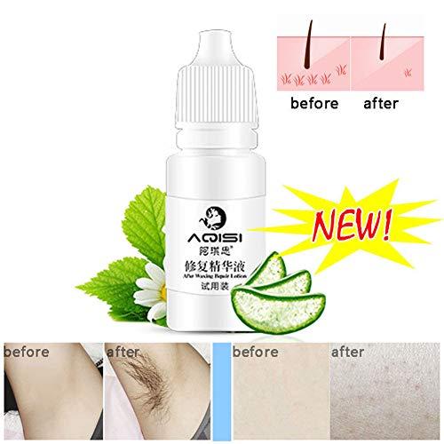 Yiwa Permanent Hair Growth Inhibitor nach dem Enthaaren Reparatur Essence Schrumpfporen Depilated Hautpflege Lotion - Hair Inhibitor Lotion