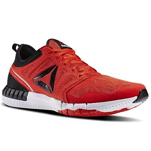 Reebok - Zapatillas de Running para Hombre, Rojo (Rojo y Negro)