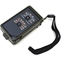 Außen Practical 10 In 1 Multi-Tool Mit Kompass Kompass Thermometer,Green