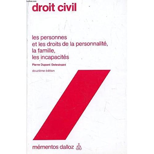 Droit civil (Mémentos Dalloz)