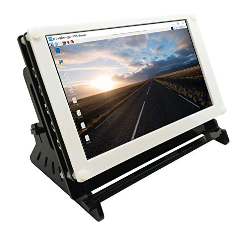 7 Zoll Raspberry Pi Capacitive Touchscreen Display-1024 * 600 IPS Bildschirm,HDMI Input,Power and Touch Via USB