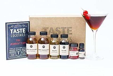 The TASTE cocktails Manhattans Cocktail Kit