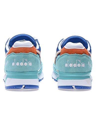 Diadora N9000 Iii, Sneaker Basses Mixte Adulte, Bleu Bleu (Blu Principessa/azzurro Capri)